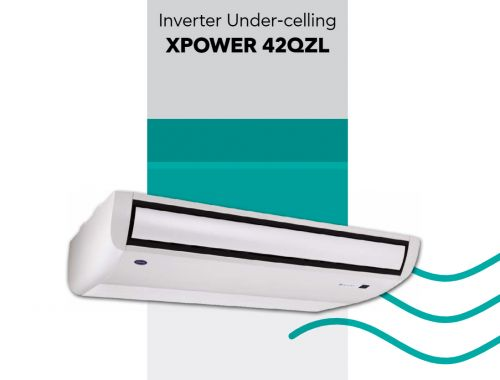 42QZL Inverter Console Ceiling XPower 3-phase (R32)